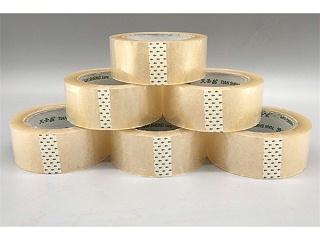 南京天圣为顺力钢业配送透明胶带